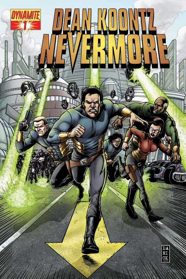 Dean Koontz&#8217;s Nevermore (comic book)