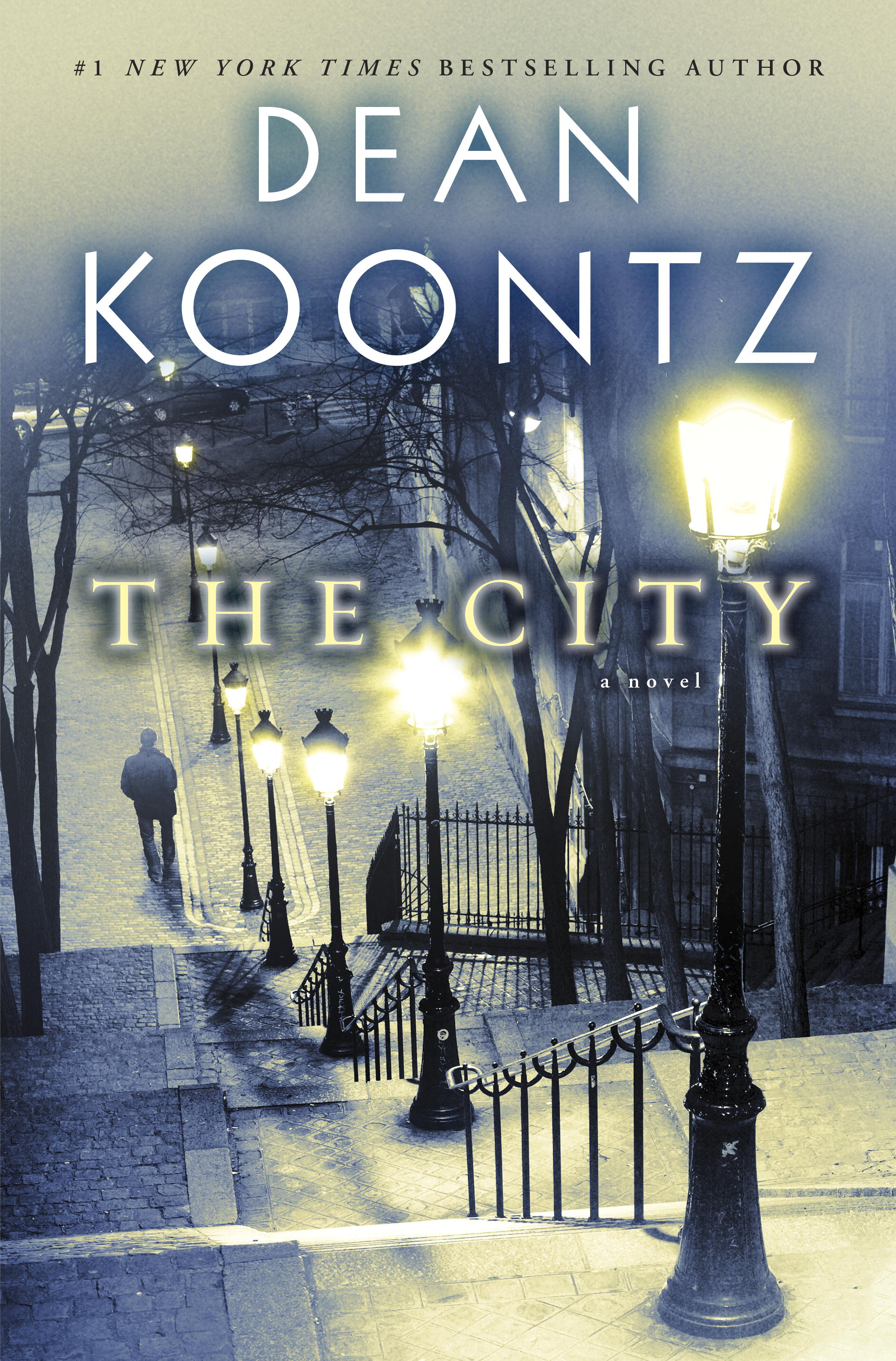 THE CITY is now available in hardcover, ebook, and audio!
