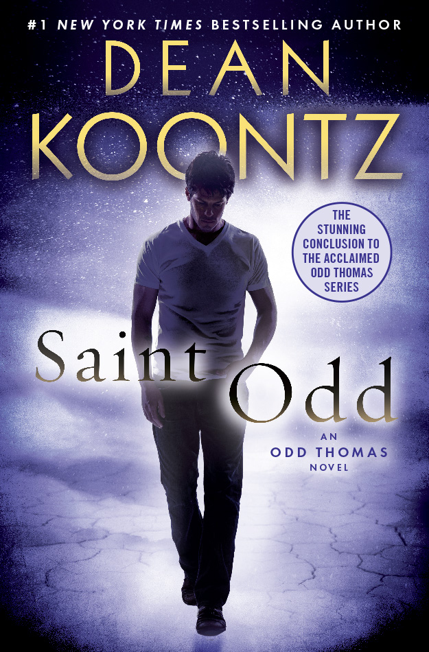 Dean on SAINT ODD, the finale in the Odd Thomas series